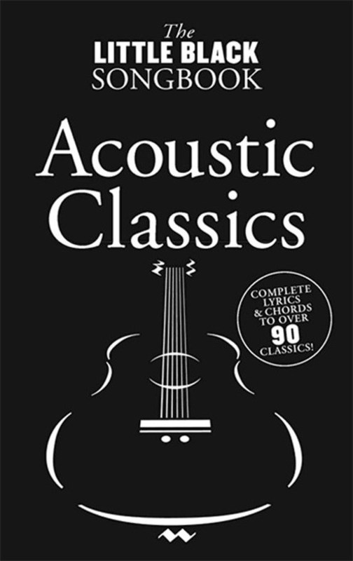 Picture of LITTLE BLACK BOOK OF ACOUSTIC CLASSICS : The Little Black Book of Acoustic Classics